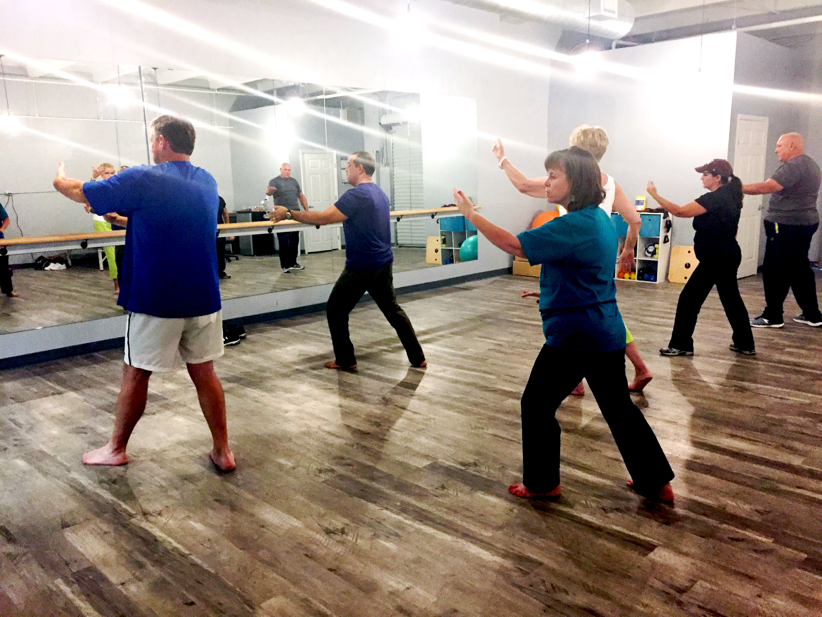 Central Texans Relieve Stress Through Tai Chi